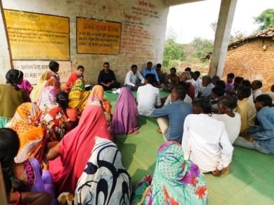 Kudo Village_The community receiving WASH training