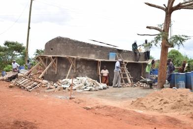 Kyeni Primary_Tank Construction